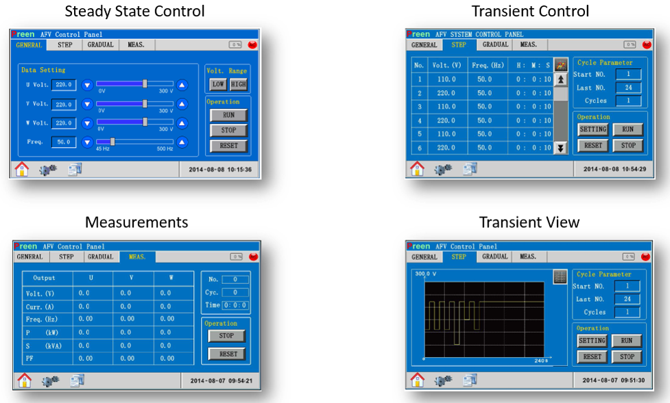 user-control PAS-F GRID SIMULATOR - Intepro Systems