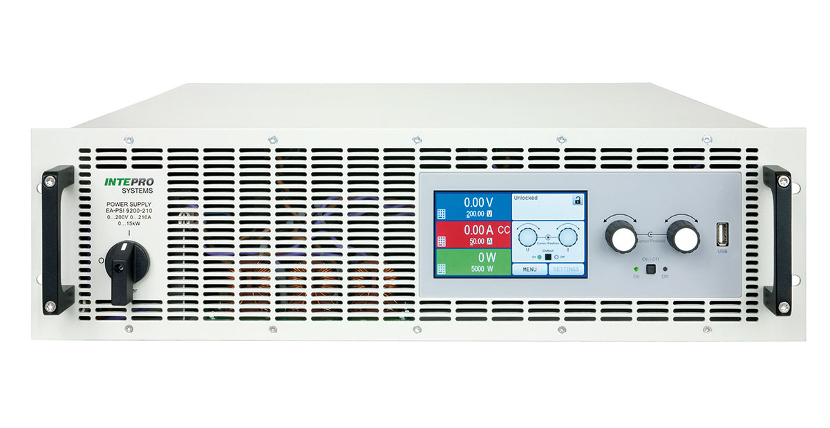 psi9000_3u_tft_front PSI 9000 PROGRAMMABLE DC SUPPLY - Intepro Systems